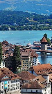 Soaring over Switzerland