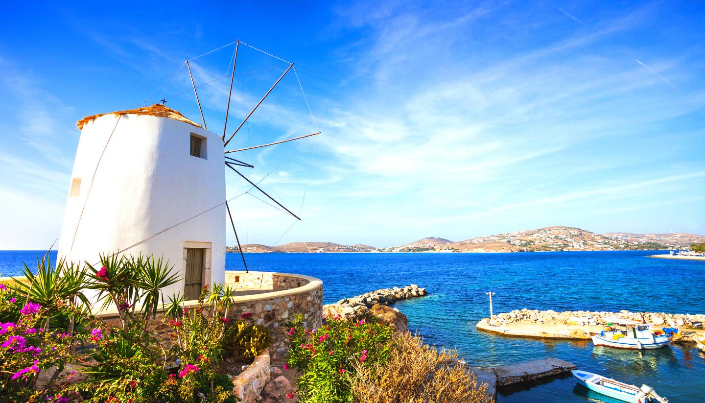 Escape to Athens, Paros, Naxos Tour